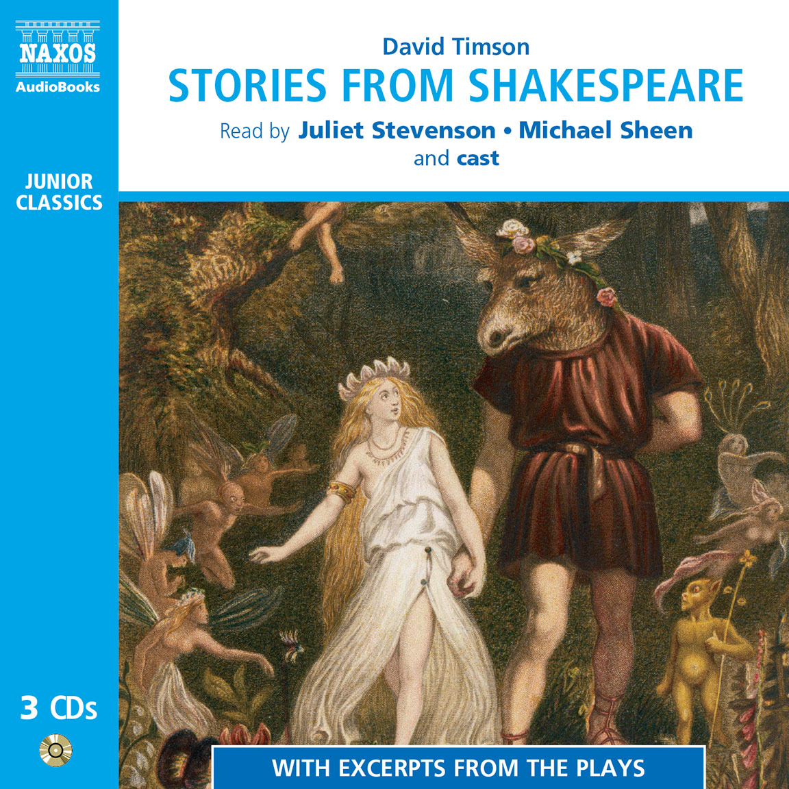 Stories from Shakespeare (unabridged)