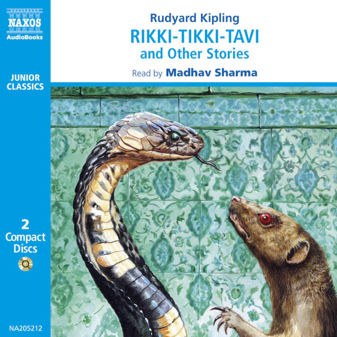 Rikki-Tikki-Tavi and Other Stories (unabridged) – Naxos AudioBooks
