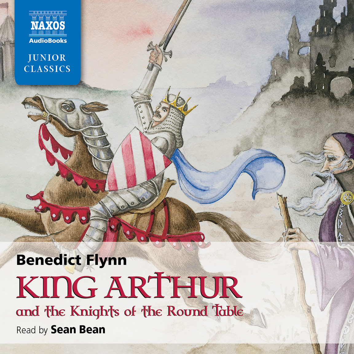 a focus on king arthur in the story of the round table