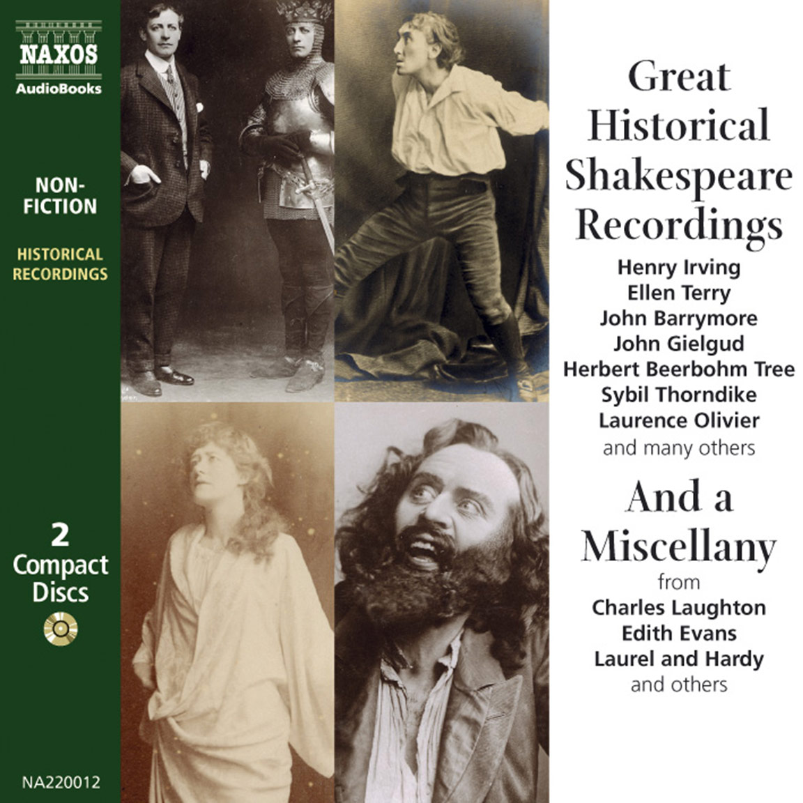 Great Historical Shakespeare Recordings (selections)
