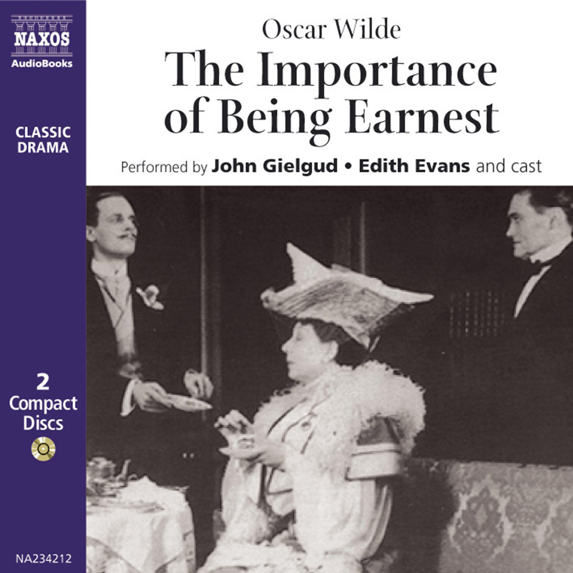 importance of being earnest the unabridged naxos audiobooks