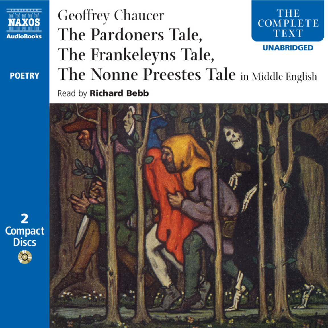 the consequences of greed in the pardoners tale a novel by geoffrey chaucer