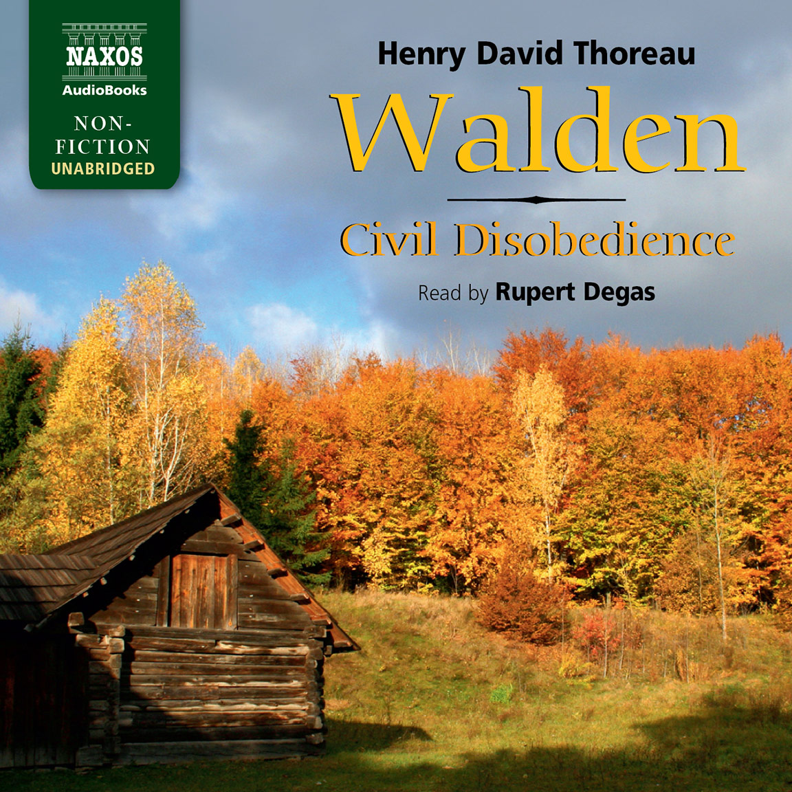 walden and civil disobedience unabridged naxos audiobooks
