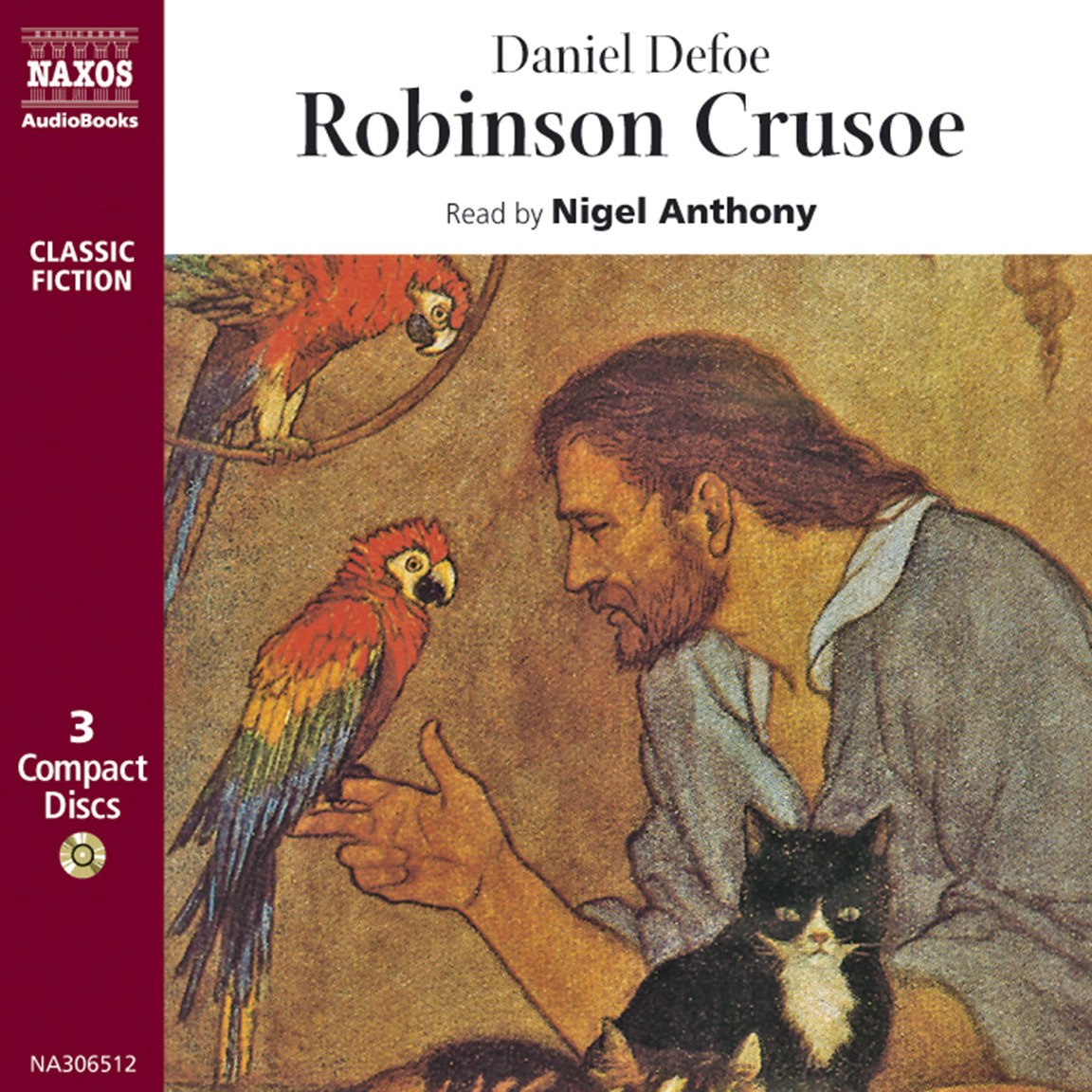 Robinson crusoe abridged naxos audiobooks - Mercredi robinson crusoe ...