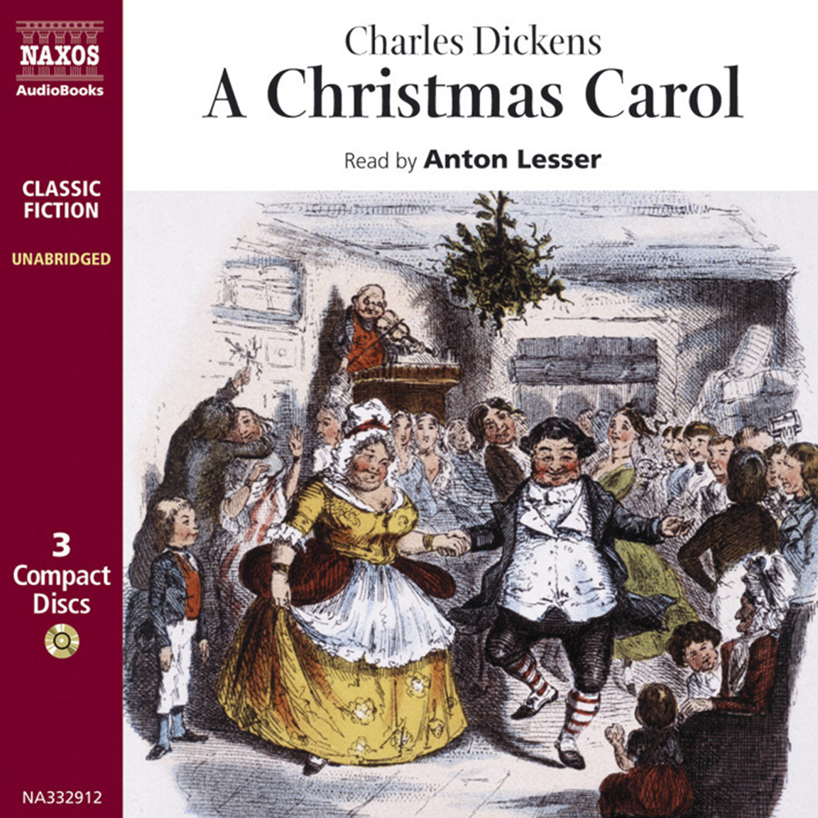 christmas carol a unabridged naxos audiobooks
