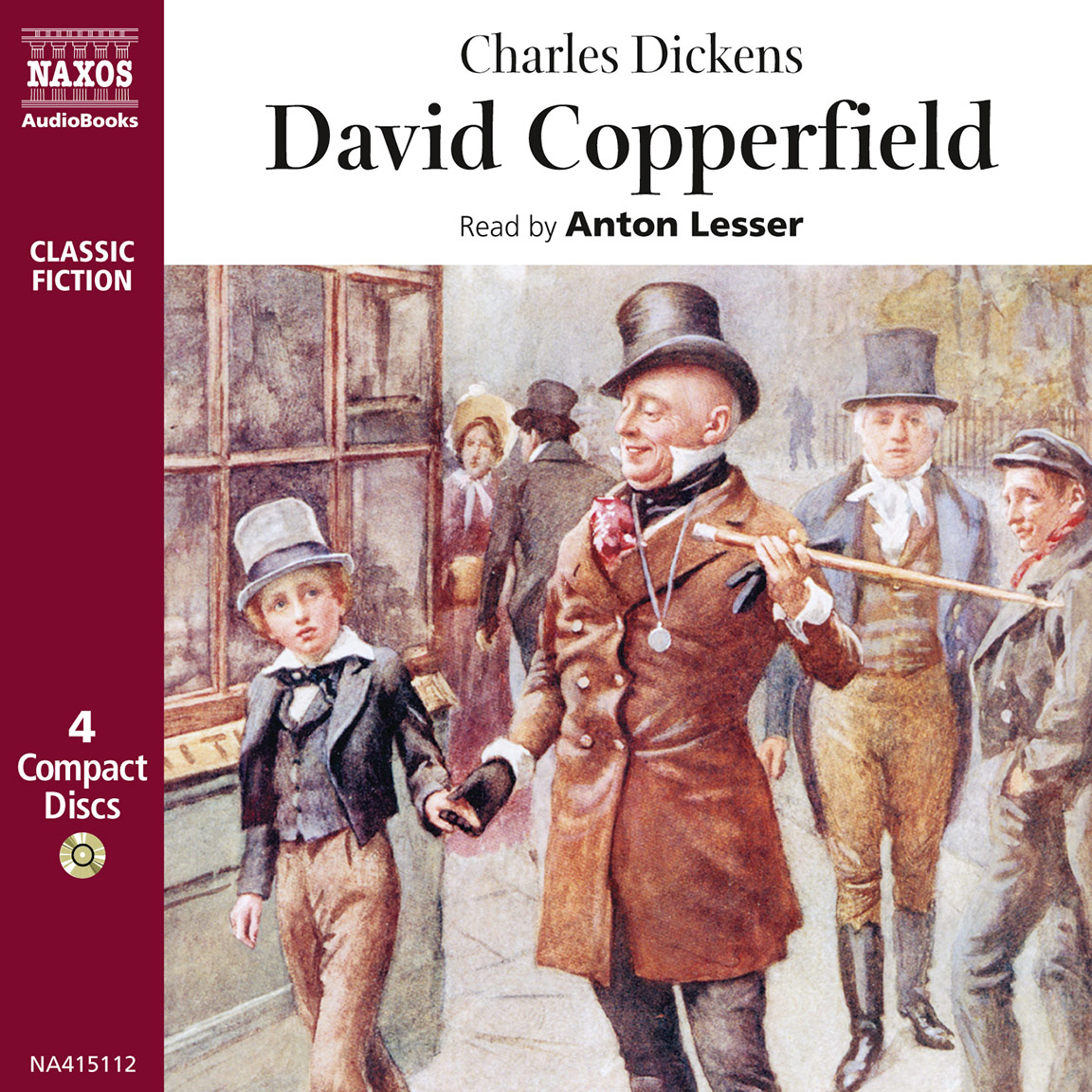 david copperfield abridged naxos audiobooks