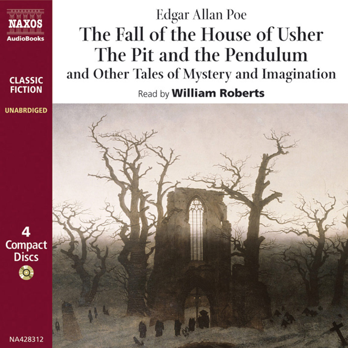 moonstone the abridged naxos audiobooks fall of the house of usher and other tales of mystery and imagination