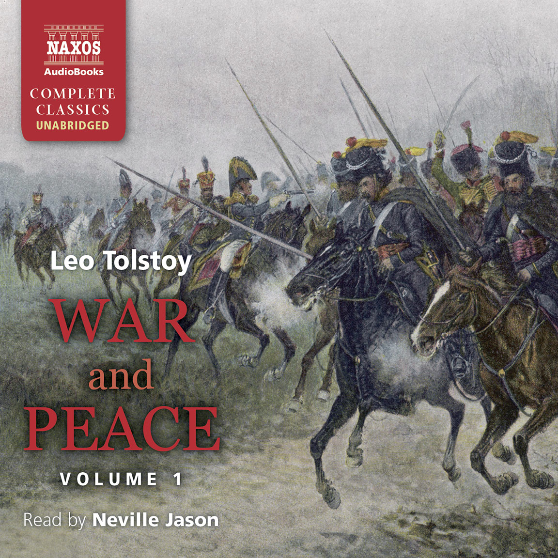 war and peace abridged naxos audiobooks war peace volume i unabridged