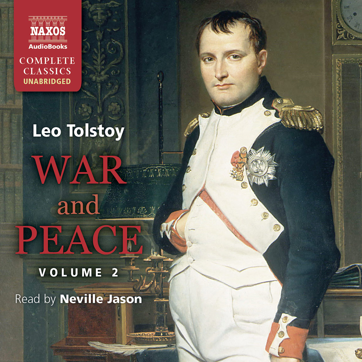 war and peace abridged naxos audiobooks war peace volume ii unabridged