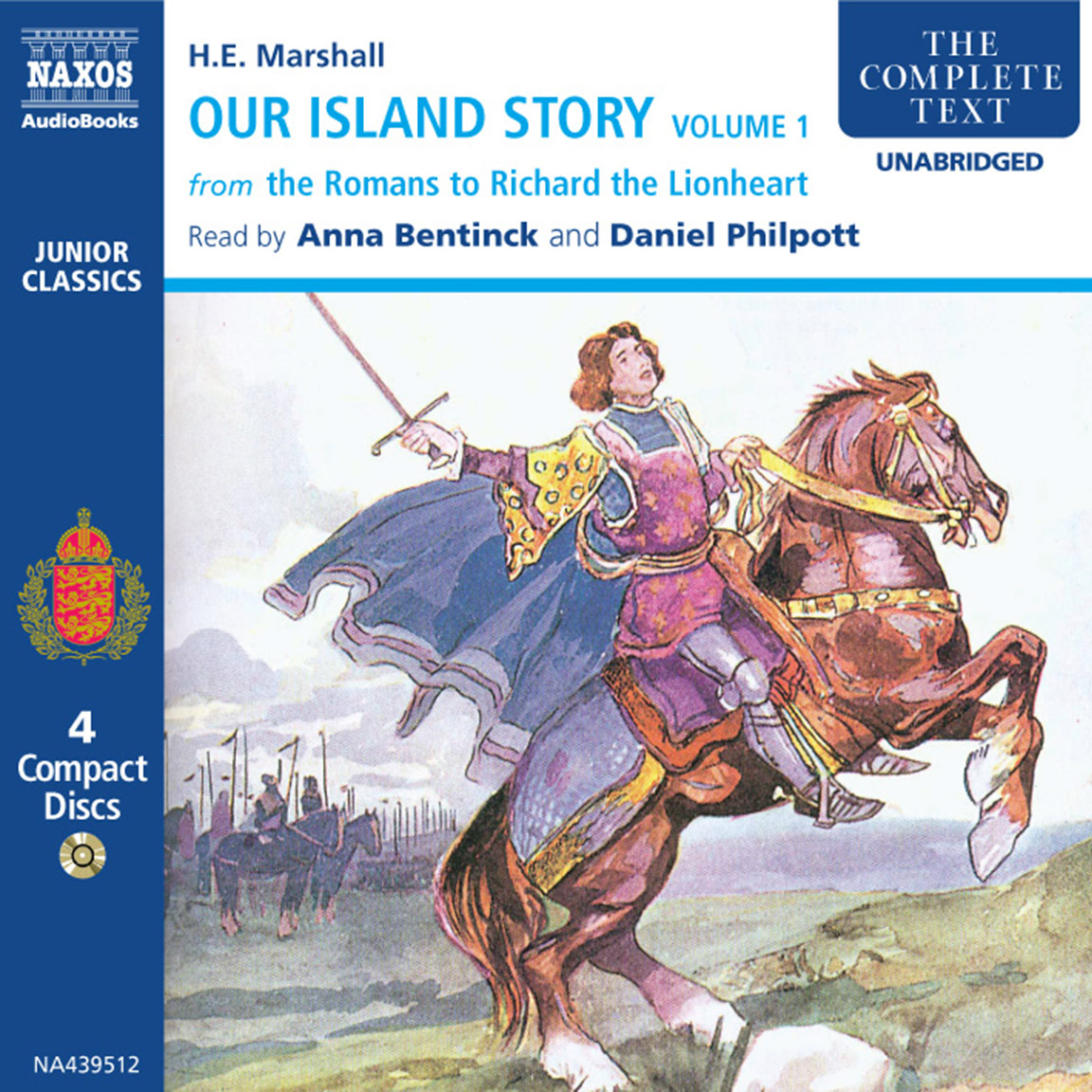 Our Island Story – Volume 1 (unabridged)