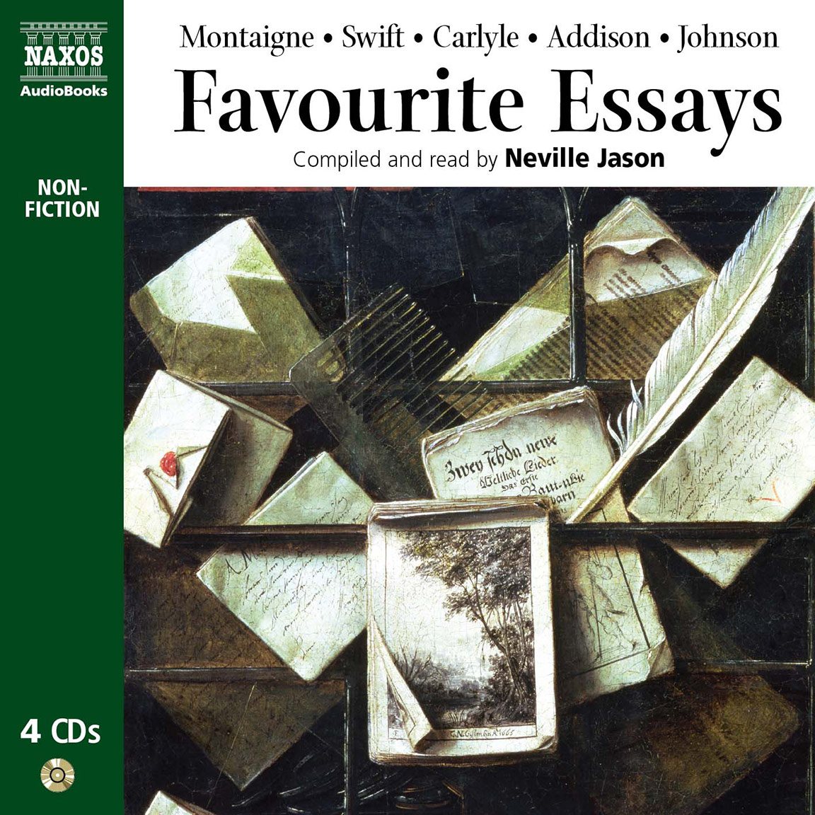 history of english poetry the unabridged naxos audiobooks favourite essays an anthology selections