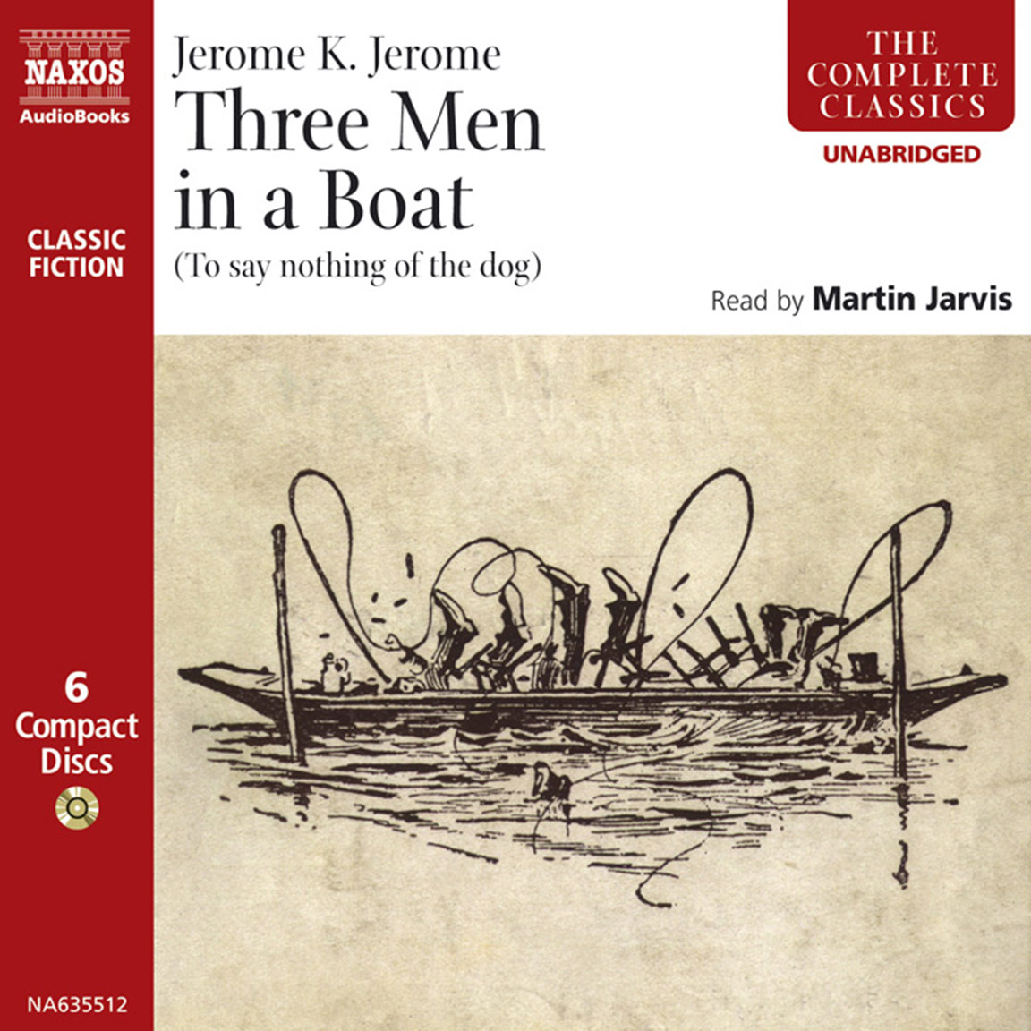 Three Men in a Boat (unabridged)