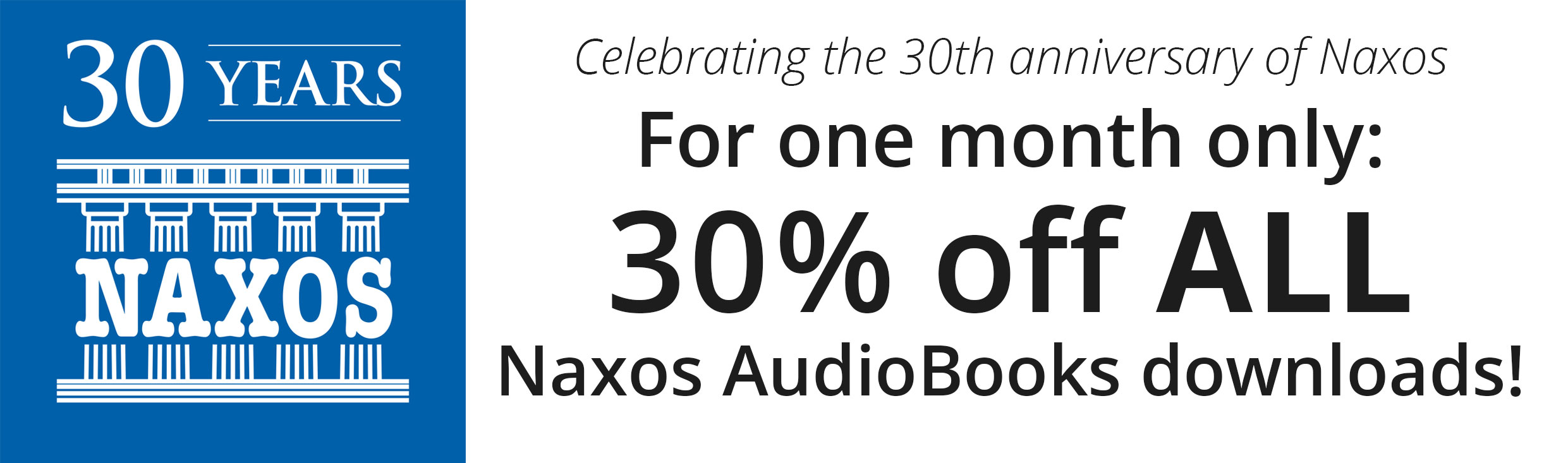 Celebrating the 30th anniversary of Naxos